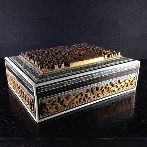 antique indian jewelry boxes