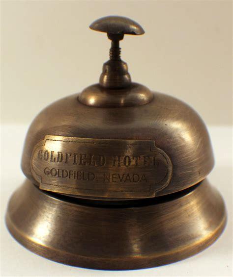 Brass Antique Brass Desk Bell.