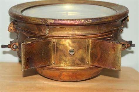 Brass Antique Brass Headlights.