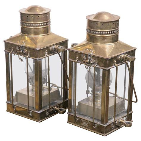 Brass Antique Brass Ship Lanterns.