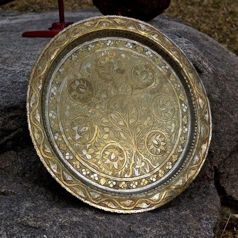 Brass Antique Brass Tray.