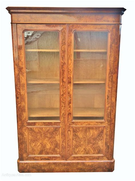 Antique Walnut Standard Bookcase