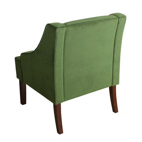 Antoinette Velvet Swoop Armchair