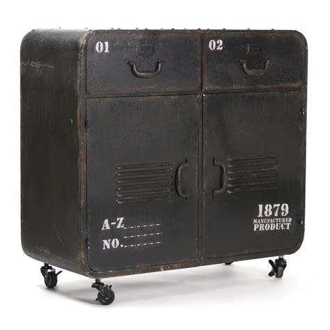 Anton Iron Office Storage Cabinet
