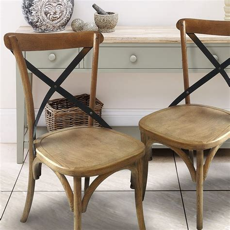 Antonio Solid Wood Dining Chair (Set of 2)
