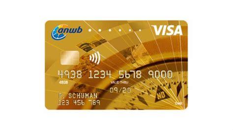 Anwb Creditcard Inliggen Anwb Visa Card De Voordeligste Creditcard Voor Leden