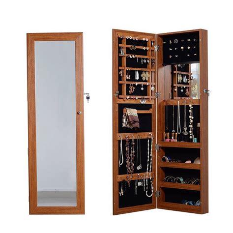 Apfel Over The Door Jewelry Armoire with Mirror