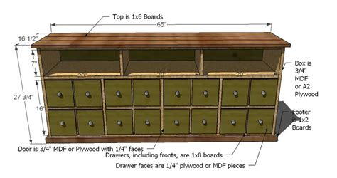 Apothecary Cabinet Plans