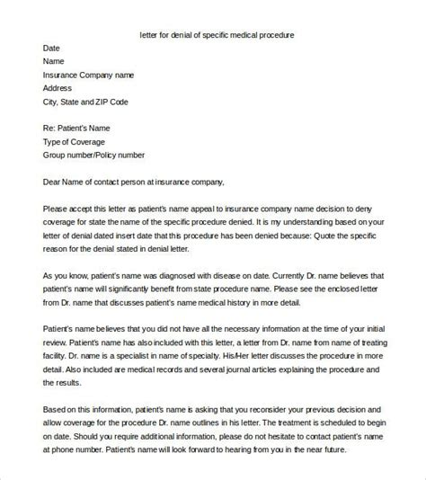 appeal letter to insurance company for out of network medical appeal letters sample online health insurance