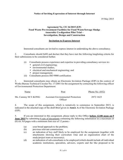 Invitation letter joint venture cv template european format invitation letter joint venture appendix 2 sample invitation letter for expression of interest stopboris Gallery