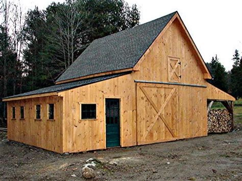 Applewood Barn Plans