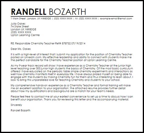 Chemist Cover Letter Sample template blank qc chemist cover letter seductive qc chemist cover letter example job application cover letters Chemistry Cover Letters