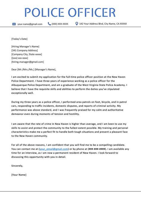 Application Letter Legal Officer Police Officer Employment Application Monett