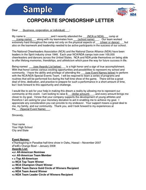 Application Letter Sample For Nurses Sample Sponsorship Letter Best Sample Letter