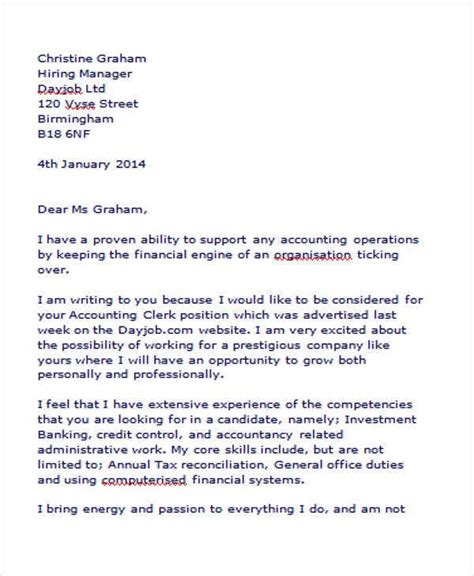 application letter sample for accounting clerk position winning accounting clerk cover letter job interviews - Cover Letter For Accounting Clerk