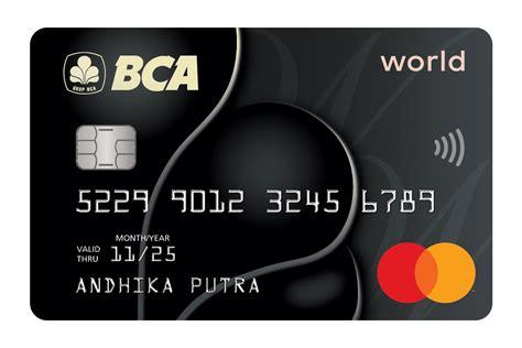 Apply For Credit Card Bca Bca Pilihan Kartu Kredit Bca