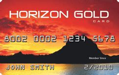 Catalog Credit Cards For Bad Credit Apply For Horizon Gold Credit Card Credit Land