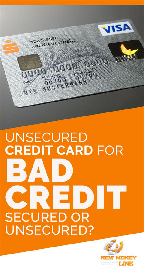 Apr Credit Card Offers Unsecured Unsecured Cards For Bad Poor Credit Asap Credit Card
