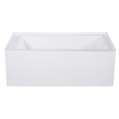Aqua Eden 54'' x 30'' Alcove Soaking Bathtub