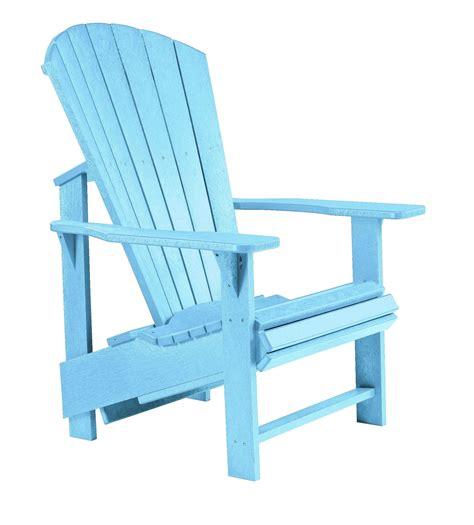Aqua Adirondack Chairs
