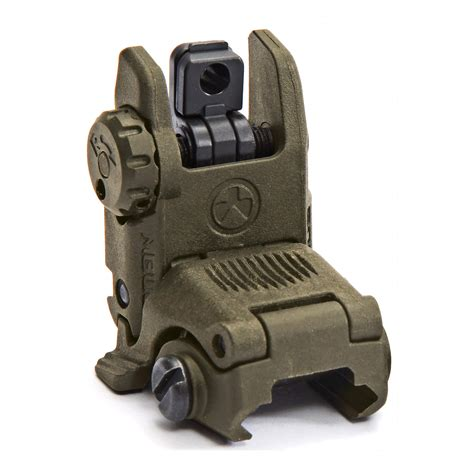 Ar-15 Mbus Gen 2 Rear Sights Magpul Ebay.