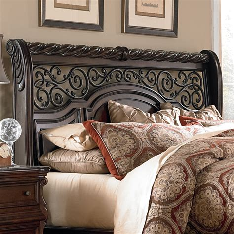 Arbor Place Sleigh Headboard byLiberty Furniture