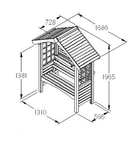 Arbour Seat Plans