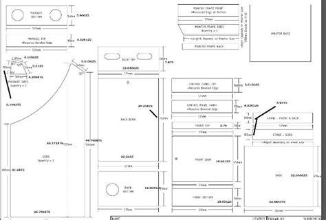 Arcade Cabinet Lowboy Plans