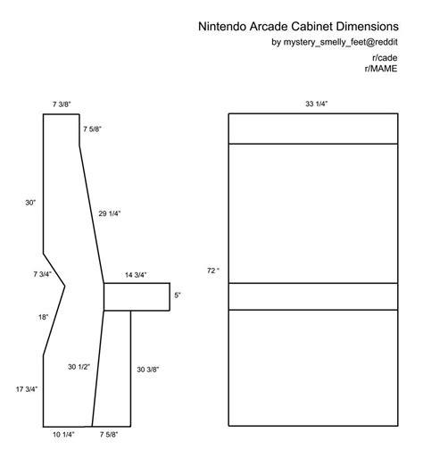 Arcade Cabinet Plans Nintendo