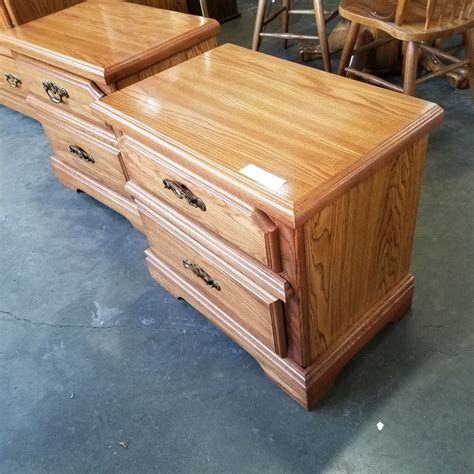 Ardie 2 Drawer Wood Nightstand