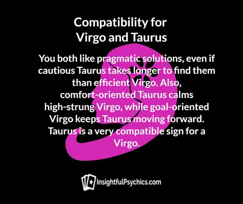 Taurus-Question Are Taurus And Virgo Compatible.