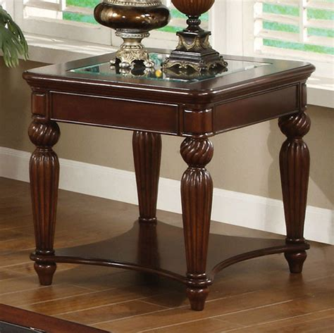Aretha Traditional End Table