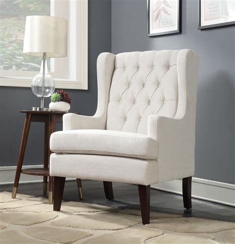 Argenta Button Tufted Wingback Chair