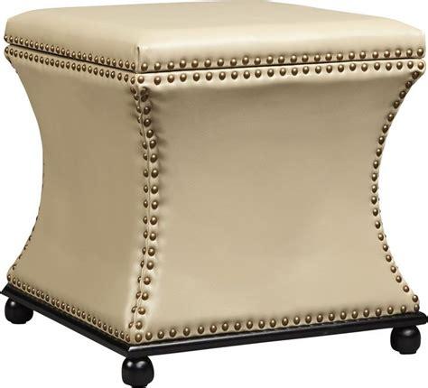 Armisen Leather Storage Ottoman