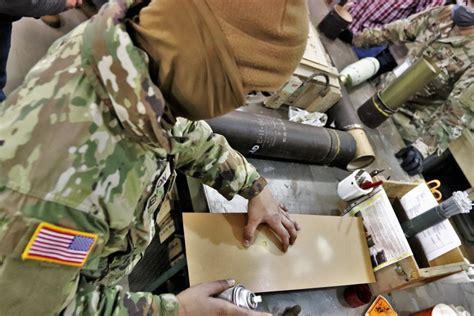 Ammunition Army Ammunition Supply Point Sop.