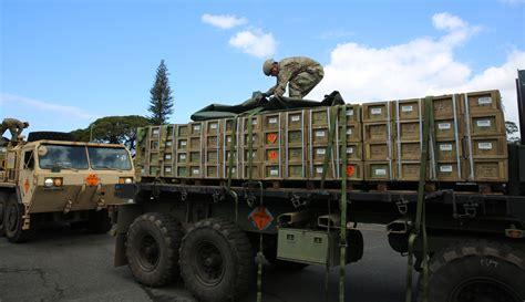 Ammunition Army Ammunition Transportation Truck.