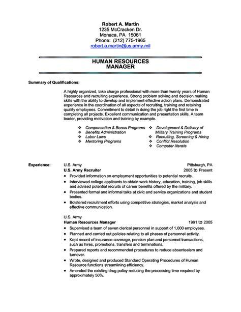 army recruiter resume job description sample human resources recruiter job description - Army Resume