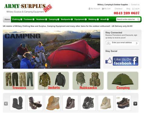 Army-Surplus Army Surplus 365 Website.