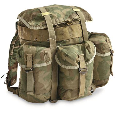 Army-Surplus Army Surplus Backpack Tent.