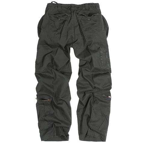 Army-Surplus Army Surplus Black Combat Trousers.