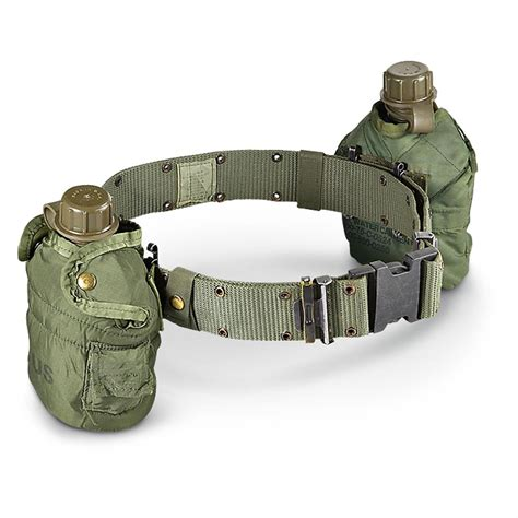 Army-Surplus Army Surplus Canteen Belt.