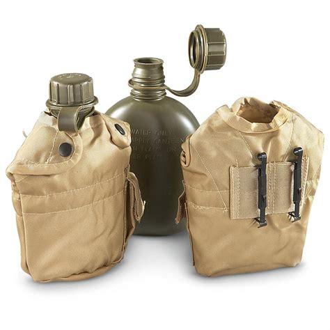 Army-Surplus Army Surplus Canteen Set.