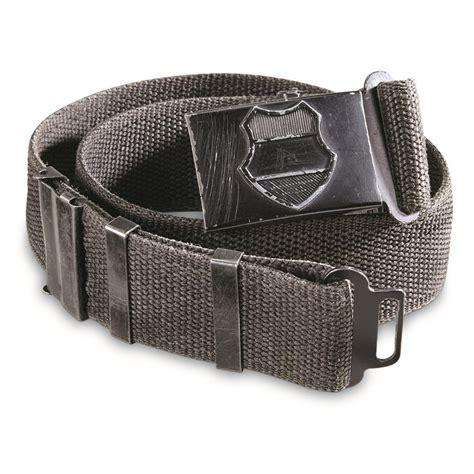 Army-Surplus Army Surplus Canvas Belts.