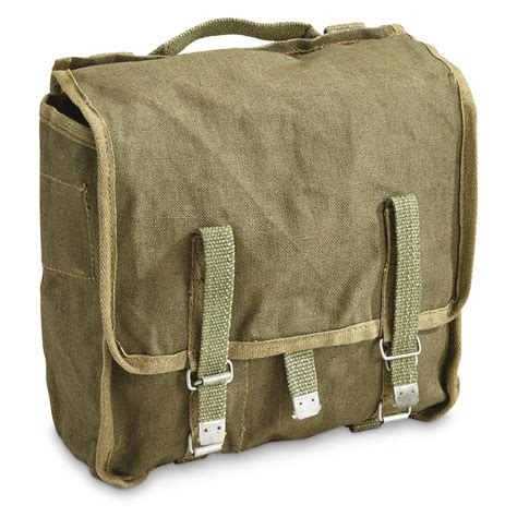 Army-Surplus Army Surplus Canvas Messenger Bag.