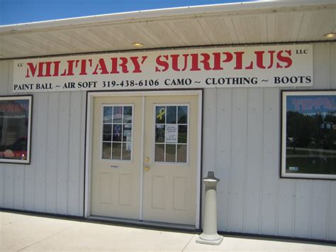 Army-Surplus Army Surplus Central City Iowa.