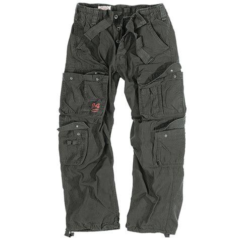 Army-Surplus Army Surplus Combat Trousers Black.