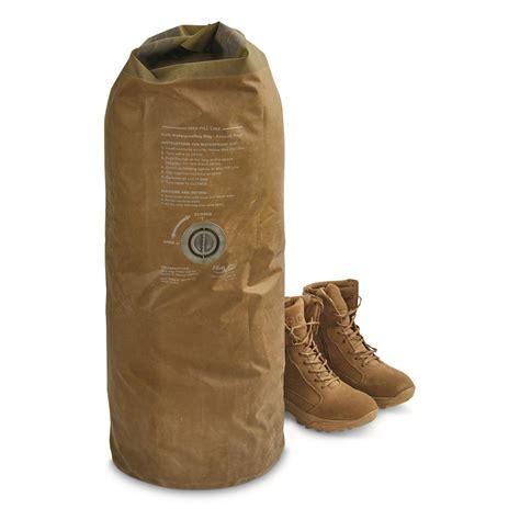 Army-Surplus Army Surplus Dry Bags.