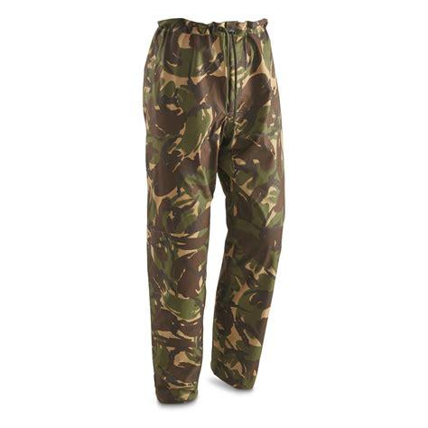 Army-Surplus Army Surplus Gortex Pants.