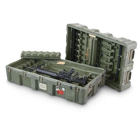 Army-Surplus Army Surplus Gun Cases.