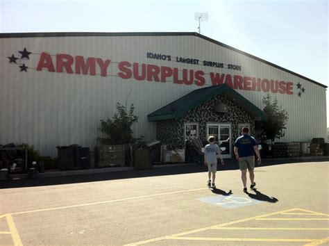 Army-Surplus Army Surplus Idaho Falls.